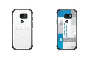 Galaxy S7 Active 2d IMD Case Mockup