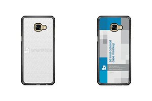 Galaxy C5 2d IMD Colored Case