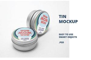 Tin Mockup v6
