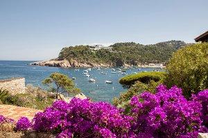 beach of  Begur