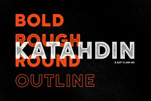 Katahdin Bold - Clean, Rough, More!