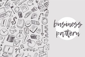 Business theme pattern