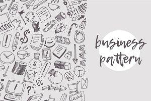 Business theme pattern