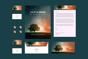 Branding identity Set: Starry Night