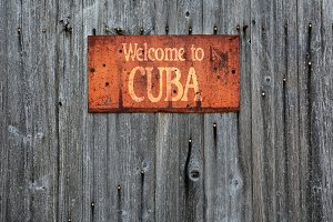 Welcome to Cuba.