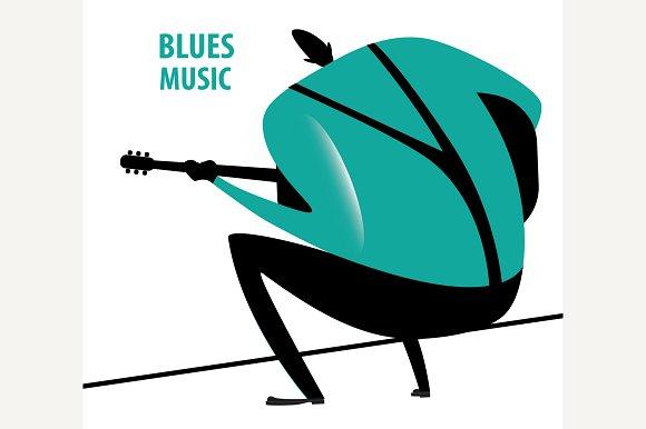Man Plays The Blues