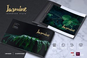 JASMINE- Lookbook Brochure Catalogue