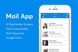 Mail App Template