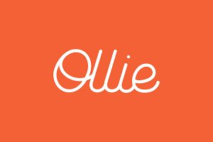 Ollie | Rounded Script