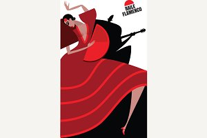 Dance and music of flamenco