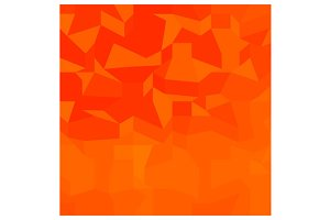 Fire Red Abstract Low Polygon Backgr