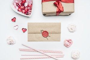 Valentine's day concept, gift