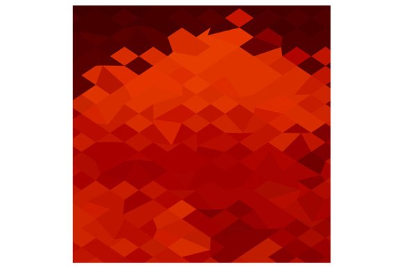 red lava abstract low polygon backgr textures creative market