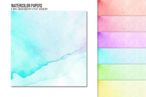 Watercolor paper texture background.