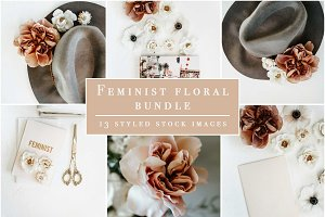 Floral Feminist Styled Stock Bundle