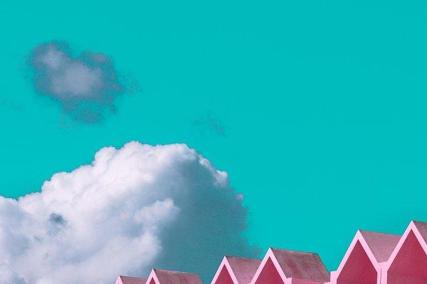 Hotel and Sky  Minimal Design
