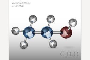 Ethanol Molecule Image