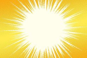 yellow light background