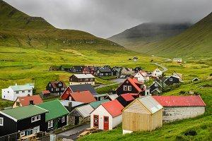 Gjogv, Faroe Islands, Denmark