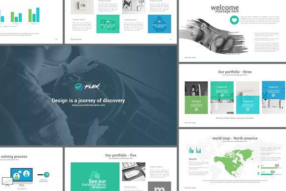 flex keynote presentation template presentation templates
