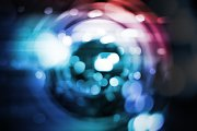 Abstract background of radial blur