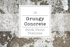 Grungy Concrete Stock Photo Texture