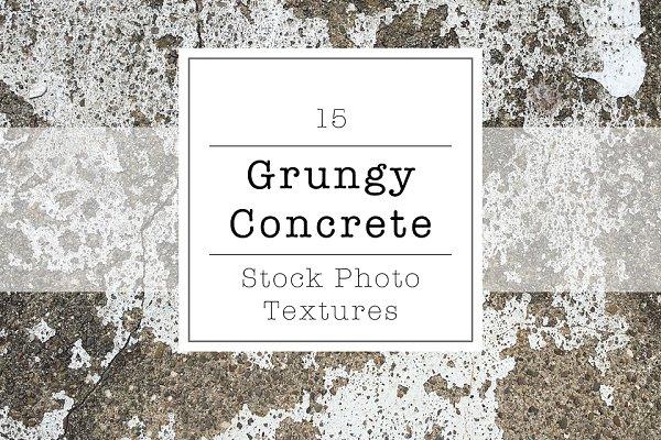 Grungy Concrete Stock Photo Texture