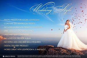 Presets for Lightroom / Wedding