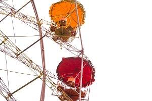 Ferris wheel in park