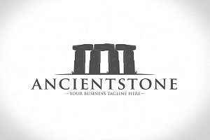 Ancient Stone Logo Template