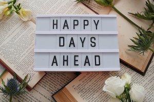Happy Days Ahead Flatlay Image