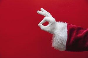 Santa hand