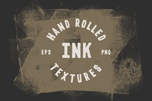 Hand Rolled Ink Textures