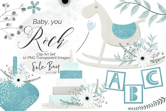 Baby, You Rock - Blue Collection