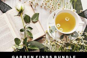 Garden Finds Flatlay Photo Bundle