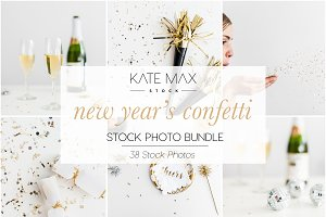 New Year's Confetti & Bubbly Bundle