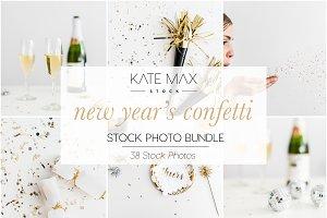 New Year's Confetti & Bubbly Bundle