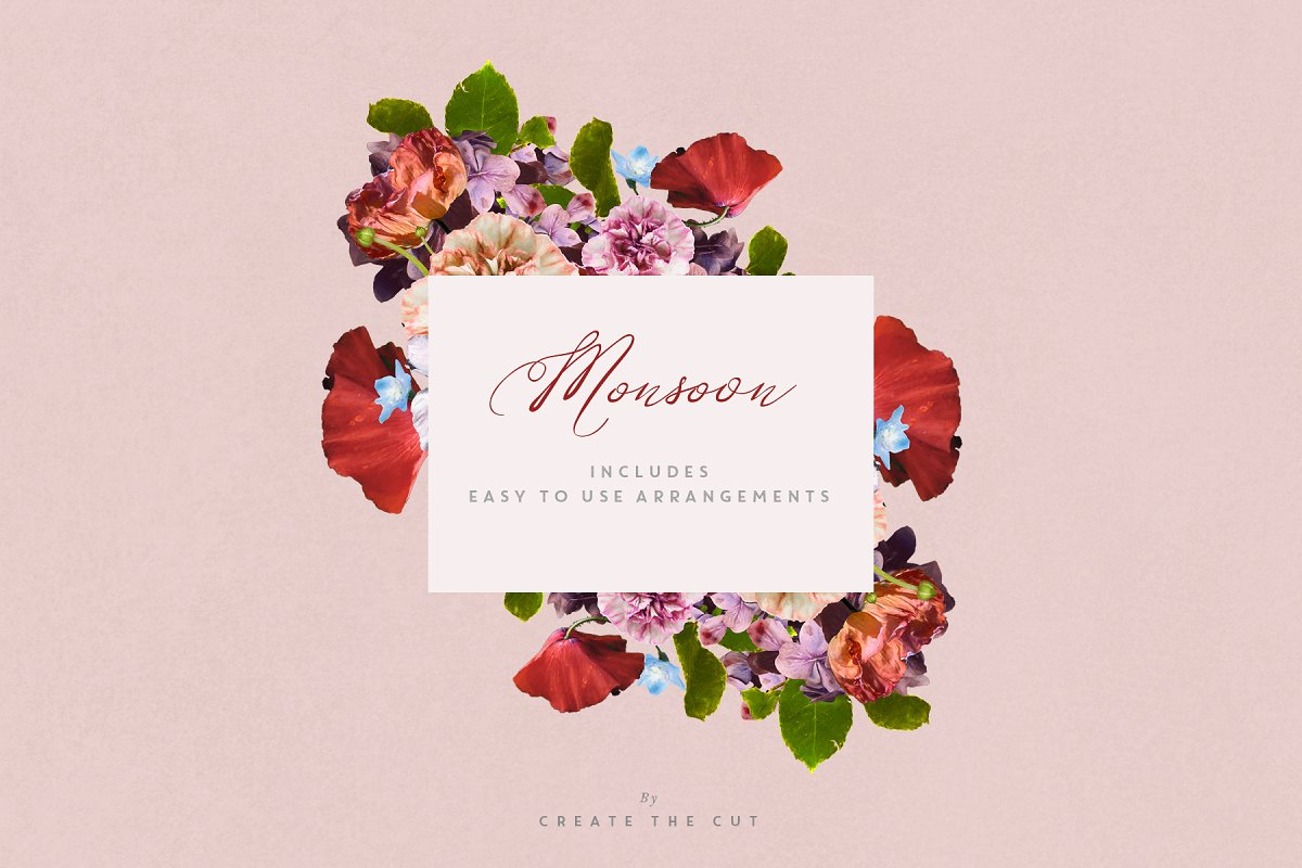 Digital Floristry - Monsoon in Illustrations - product preview 8