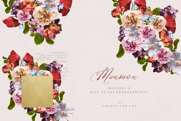 Digital Floristry - Monsoon in Illustrations - product preview 2