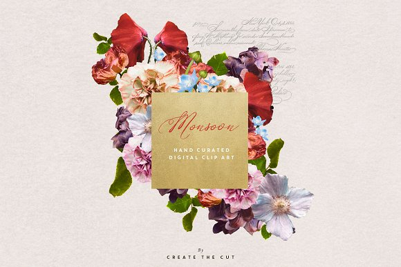Digital Floristry - Monsoon in Illustrations - product preview 1