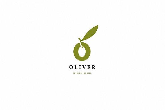 oliver letter o logo template logo templates creative market
