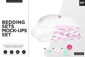 Bedding Sets Mock-ups