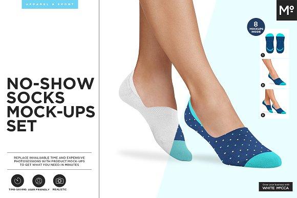 Download No Show Socks Mock-up
