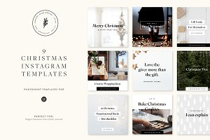 Christmas Instagram Pack