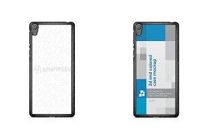 Sony Xperia E5 2d IMD Case Mockup