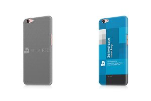Oppo F1s 3d IMD Mobile Case Mockup