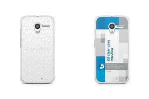 Motorola Moto X 2d Clear Mobile Case