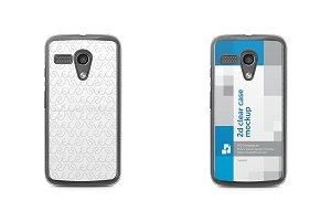 Motorola Moto G 2d Clear Mobile Case
