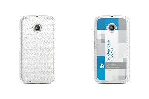 Motorola Moto E2 2d Clear MobileCase