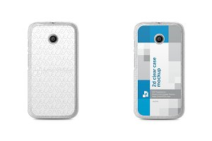 Motorola Moto E 2d Clear Mobile Case